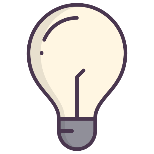 Electric, Check, Bulb, Light Bulb, New Idea, Good Idea Icon