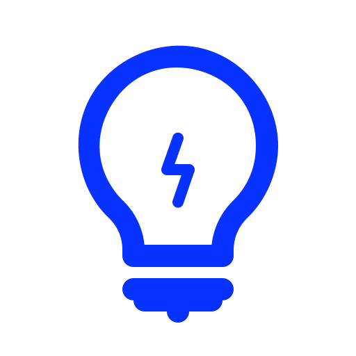 Bulb, New Idea, Check, Light Bulb, Electric, Good Idea Icon