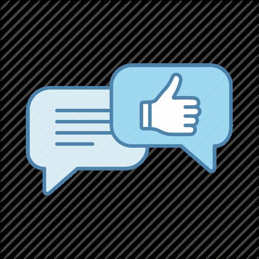 Chat, Chatting, Feedback, Good Job, Speech Bubble, Thumbs Up, Well