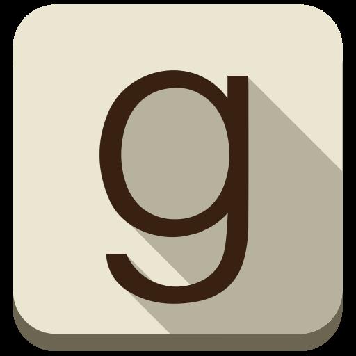 Books, Ebooks, G, Goodreads, Social Media, Square Icon
