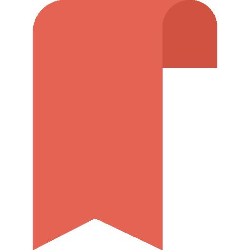 Bookmark Icon Education Dinosoftlabs