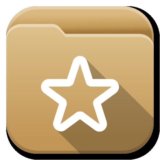Apps Folder Bookmarks Icon Flatwoken Iconset Alecive
