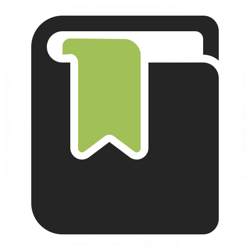 Book Bookmark Icon Iconexperience