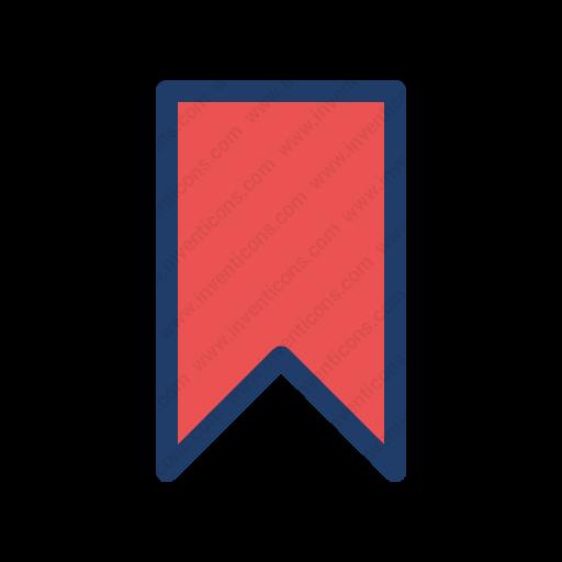 Download Ribbon,bookmark Icon Inventicons