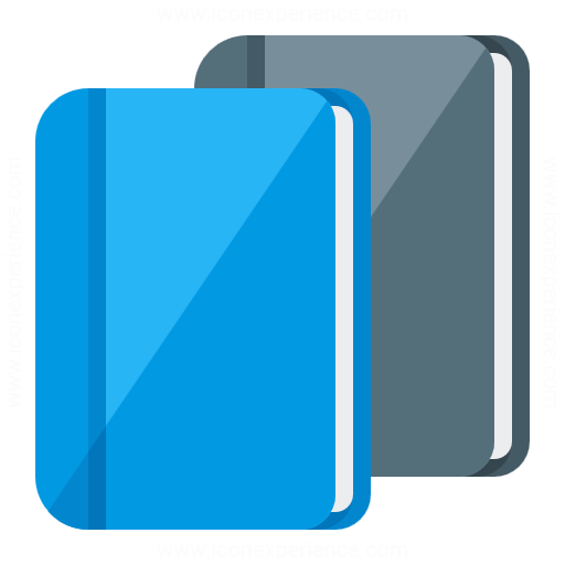 Iconexperience G Collection Books Icon