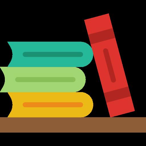 Library, Education, Reading, Study, Literature, Book, Books Icon