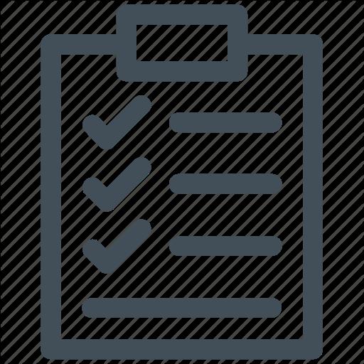 Checklist Vector Business Icon Huge Freebie! Download