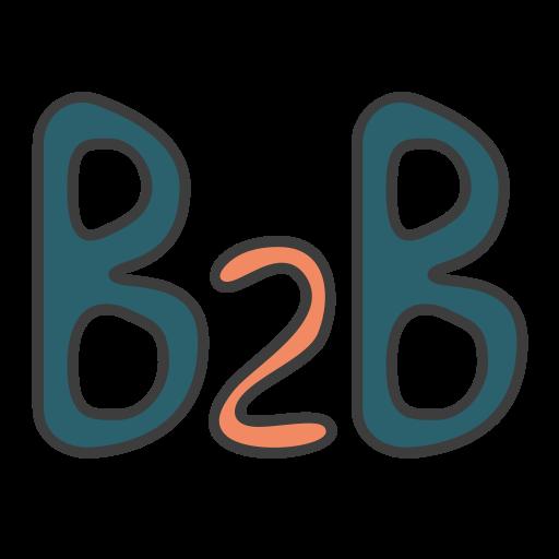 Business Business, Business Model, Business To Business Icon