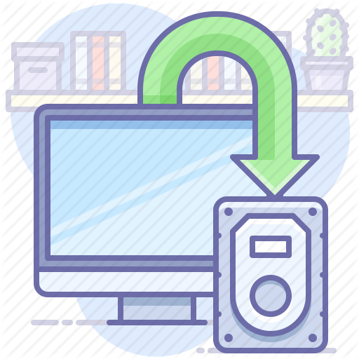 Backup, Data, Desktop Icon