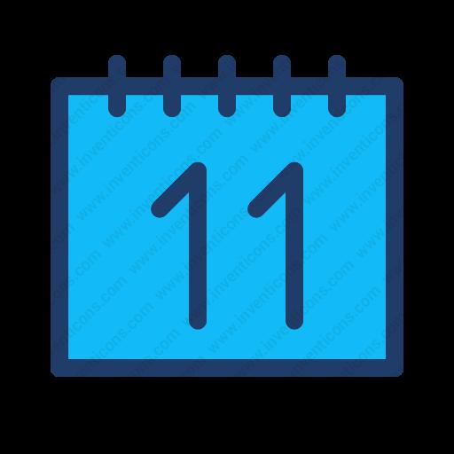 Download Calendar Icon Inventicons