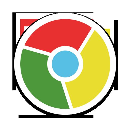 Chrome, Round Icon