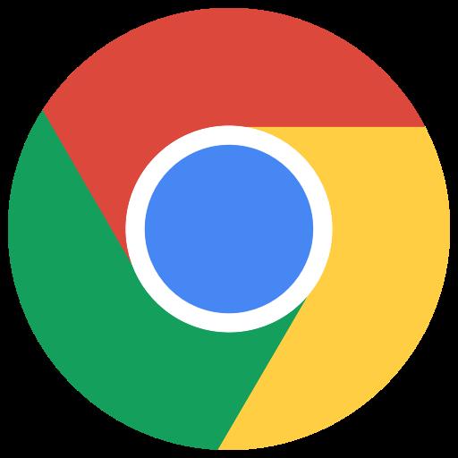 Chrome, Google, Logo Icon