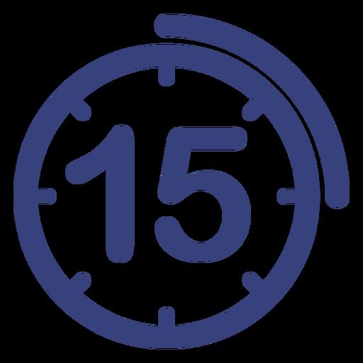 Minutes Clock Icon