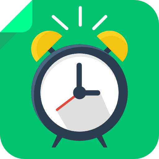 Alarm Clock Icon Square Iconset Flat