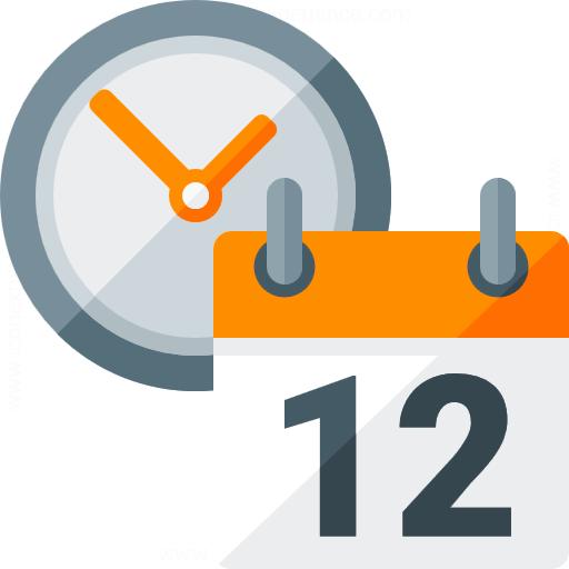 Iconexperience G Collection Calendar Clock Icon