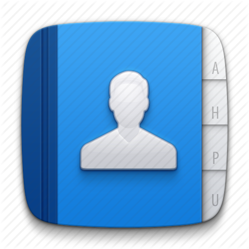 Account, Address Book, Contact, Contacts, Man, Notepad, People