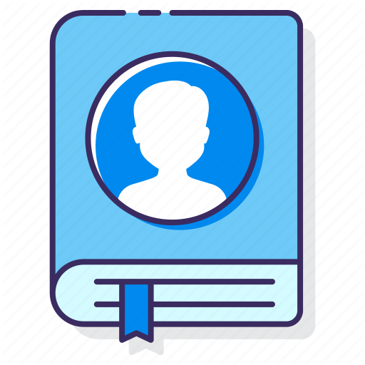 Contact Book, Contact List, Contacts Icon