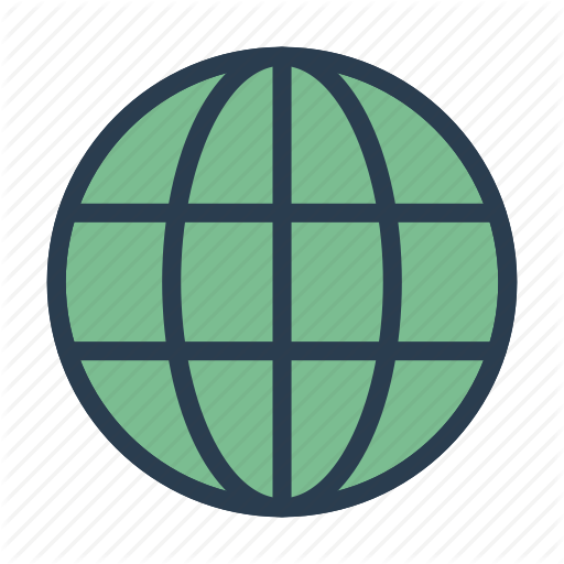 Browser, Earth, Internet, Online, World Icon