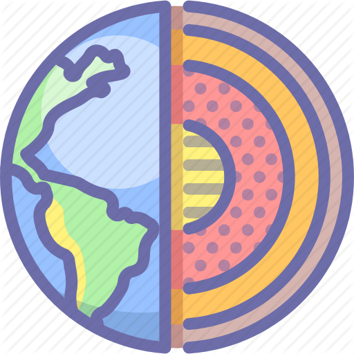 Core, Earth, Planet Icon