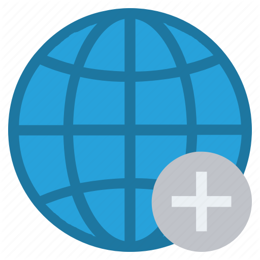 Country, Earth, Globe, Location, Map, Plus, World Icon