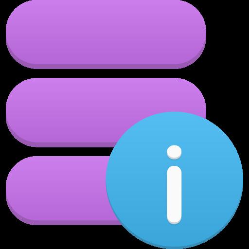Data Info Icon Flatastic Iconset Custom Icon Design