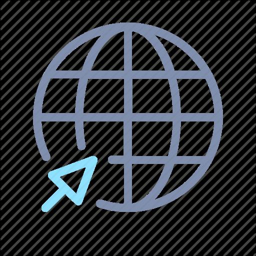 Earth, Global, Globe, Internet, Online, World Icon