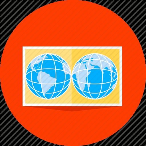 Earth, Global, Globe, Location, Map, Navigation, World Icon