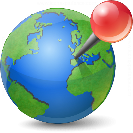 Iconexperience V Collection Earth Location Icon