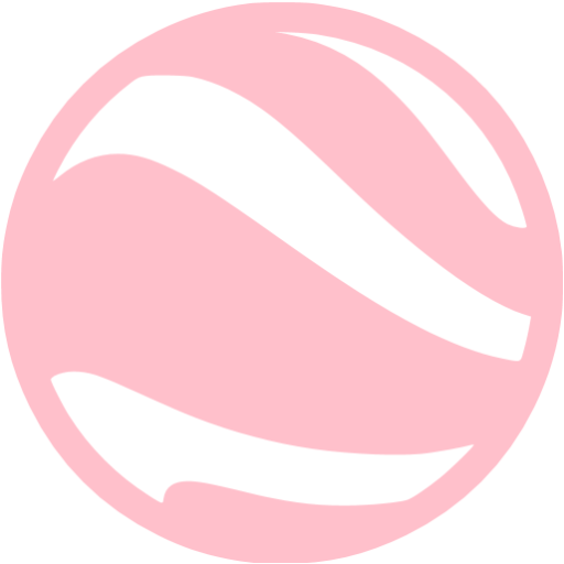 Pink Google Earth Icon
