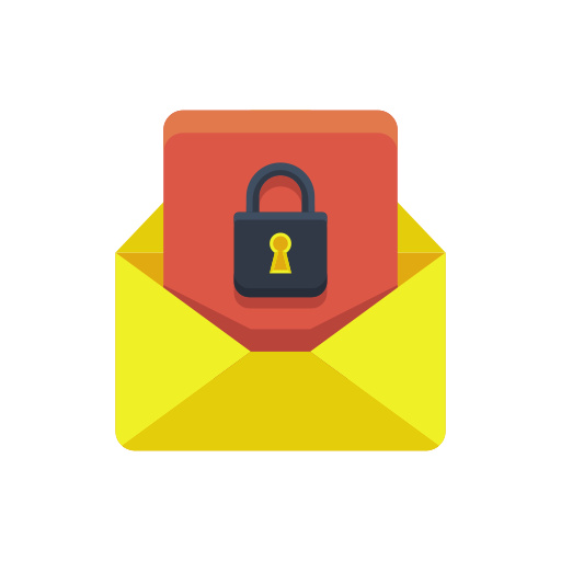 Encrypted Email Icon Free Download