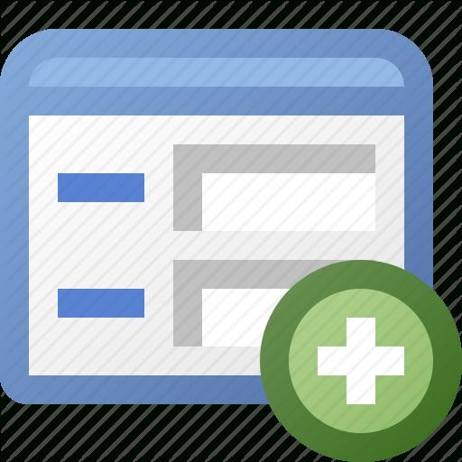 Add, Application, Form, Window Icon Regarding Application Form