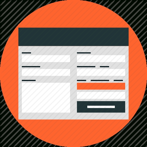Contact, Form, Interface, Internet, Submit, Tab, Web, Website Icon