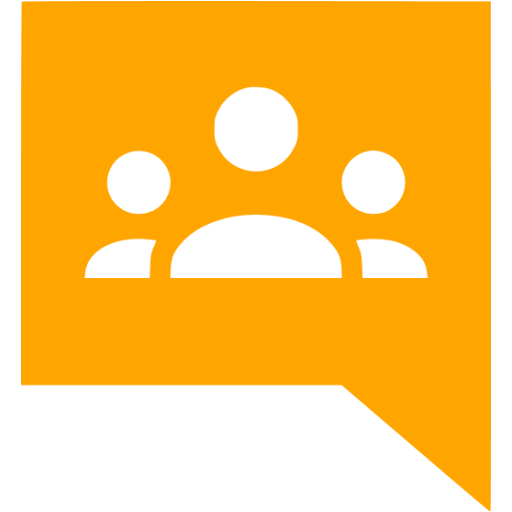 Orange Google Groups Icon