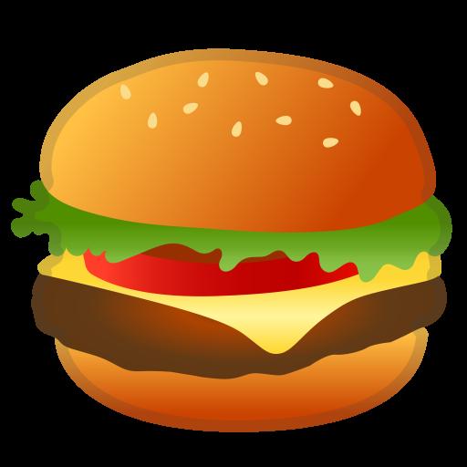Hamburger Icon Noto Emoji Food Drink Iconset Google