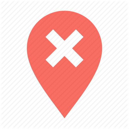 Checkpoint, Delete, Location Icon