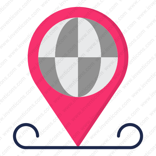 Download Global,location Icon Inventicons