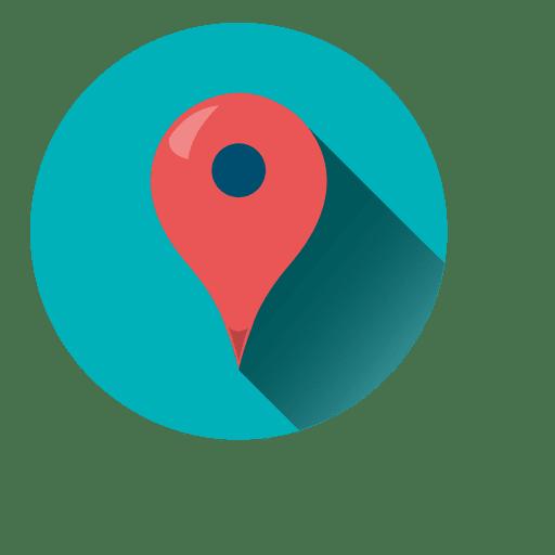 Location Pointer Round Icon