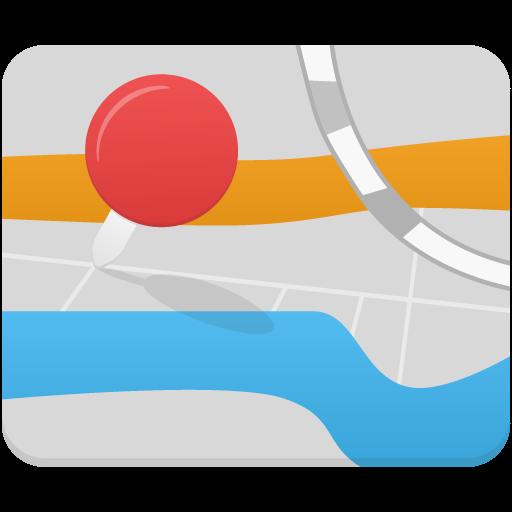 Map Icon Flatastic Iconset Custom Icon Design