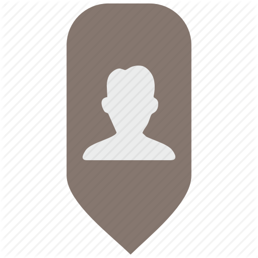 Map, Person, Place, Pointer Icon