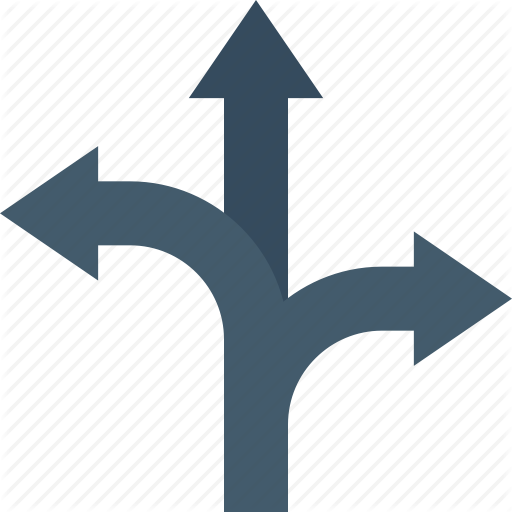 Arrow Fork, Arrows, Bifurcation Arrow, Navigational Arrow, Two Way