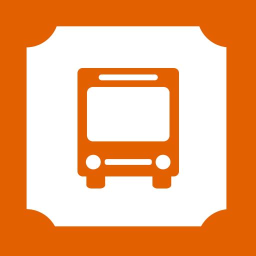 Bus, Ticket Icon