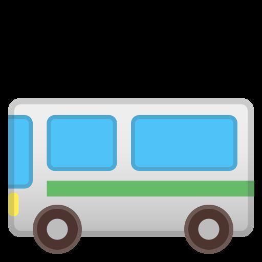 Bus Icon Noto Emoji Travel Places Iconset Google