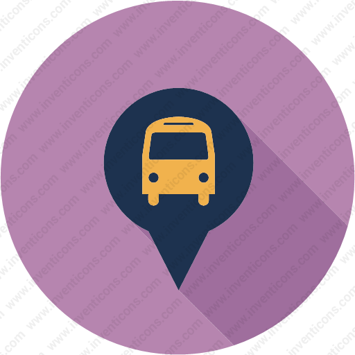 Download Location,map,gps,navigation,pin,bus Icon Inventicons