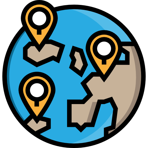 Geolocalization, Vehicle, Stop, Bus Icon