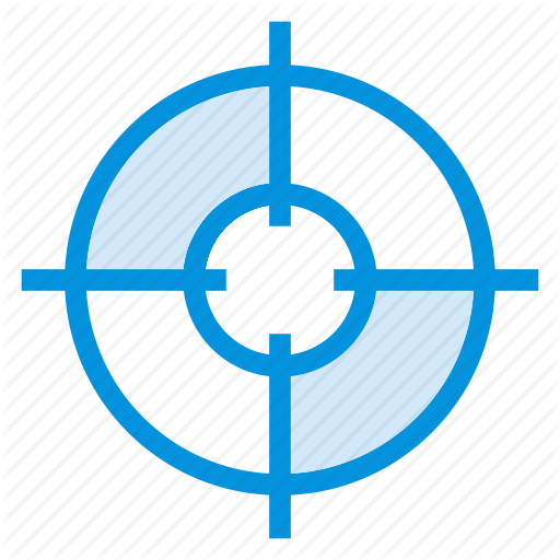 Circle, Focus, Goal, Map, Navigation, Position, Target Icon