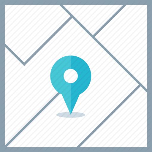 Google, Locate, Maps Icon