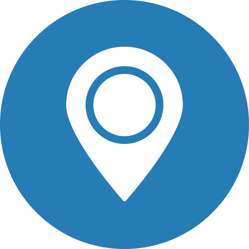 Blue, Map, Marker, Navigation, Gps, Location, Direction Icon