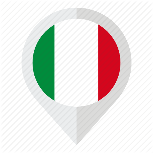 Country, Flag, Geolocation, Italy, Italy Flag, Map Marker Icon