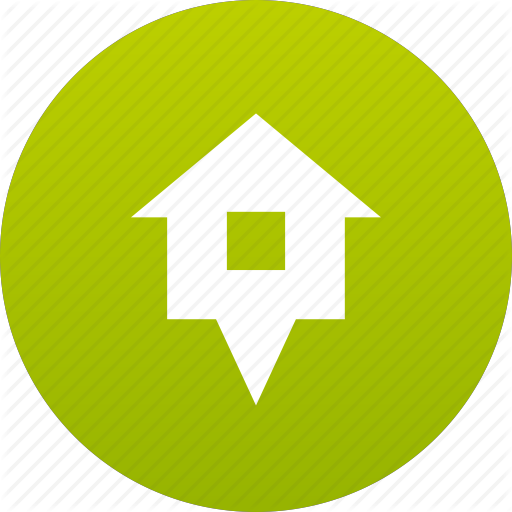 Home, House, Map Marker, Marker Icon