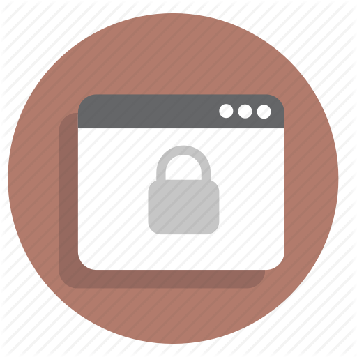 Browser, Lock, Protection, Safe, Secure, Security, Web Icon